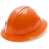 Pyramex Safety Products Full Brim Style 4-Point Ratchet Suspension Hard Hat PYR HP24140