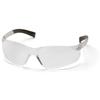 Pyramex Safety Products Mini Ztek® Eyewear Clear Lens with Clear Frame PYR S2510SN