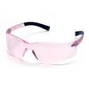 Pyramex Safety Products Mini Ztek® Eyewear Pink Lens with Pink Frame PYR S2517SN