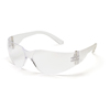 Pyramex Safety Products Mini Intruder® Eyewear Clear Lens with Clear Frame PYR S4110SN