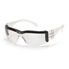Pyramex Safety Products Intruder® Clear Anti-Fog Lens with Clear Frame and Foam Padding PYR S4110STP