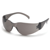 eye protection: Pyramex Safety Products - Intruder® Eyewear Gray Lens with Gray Frame