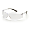 eye protection: Pyramex Safety Products - Itek® Eyewear Clear Anti-Fog Lens with Clear Temples