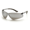 Pyramex Safety Products Itek® Eyewear Silver Mirror Lens with Gray Temples PYR S5870S