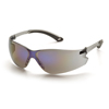 Pyramex Safety Products Itek® Eyewear Blue Mirror Lens with Gray Temples PYR S5875S
