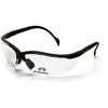 Pyramex Safety Products V2 Readers® Eyewear Clear +1.0 Lens with Black Frame PYR SB1810R10