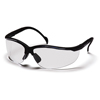 Ring Panel Link Filters Economy: Pyramex Safety Products - Venture II® Eyewear Clear Anti-Fog Lens with Black Frame