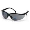 eye protection: Pyramex Safety Products - V2 Readers® Eyewear Gray +2.5 Lens with Black Frame