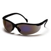 Ring Panel Link Filters Economy: Pyramex Safety Products - Venture II® Eyewear Blue Mirror Lens with Black Frame