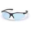 Pyramex Safety Products Fortress® Eyewear Infinity Blue Lens with Black Frame PYR SB3760D