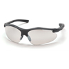 Pyramex Safety Products Fortress® Eyewear IO Mirror Lens with Black Frame PYR SB3780D