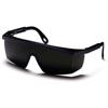 Pyramex Safety Products Integra® Eyewear 5.0 IR Filter Lens with Black Frame PYR SB450SF
