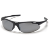 Pyramex Safety Products Avante® Eyewear Silver Mirror Lens with Black Frame PYR SB4570D