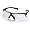 Ring Panel Link Filters Economy: Pyramex Safety Products - Onix™ Eyewear Clear Anti-Fog Lens with Black Frame