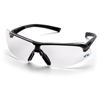 Pyramex Safety Products Onix™ Eyewear Clear Anti-Fog Lens with Black Frame PYR SB4910ST