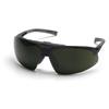 Pyramex Safety Products Onix Plus™ Clear Anti-Fog Lens/5.0 IR Flip Lens with Black Frame PYR SB4950STP