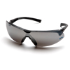 Ring Panel Link Filters Economy: Pyramex Safety Products - Onix™ Eyewear Silver Mirror Lens with Black Frame