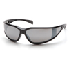 Pyramex Safety Products Exeter® Eyewear Silver Mirror Anti-Fog Lens with Black Frame PYR SB5170DT