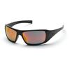 Pyramex Safety Products Goliath® Eyewear Ice Orange Mirror Lens with Black Frame PYR SB5645D