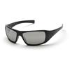 Pyramex Safety Products Goliath® Eyewear Silver Mirror Lens with Black Frame PYR SB5670D