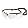 Pyramex Safety Products PMXTREME™ Eyewear Clear Lens with Black Frame & Cord PYR SB6310SP