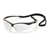 Pyramex Safety Products PMXTREME™ Eyewear Clear Anti-Fog Lens with Black Frame & Cord PYRSB6310STP