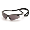 Pyramex Safety Products PMXTREME™ Eyewear Gray Lens with Black Frame & Cord PYR SB6320SP