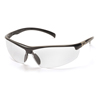 Pyramex Safety Products Forum™ Eyewear Clear Lens with Black Frame PYR SB6610D