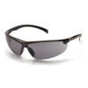 Pyramex Safety Products Forum™ Eyewear Gray Lens with Black Frame PYR SB6620D