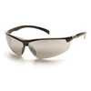 Pyramex Safety Products Forum™ Eyewear Silver Mirror Lens with Black Frame PYR SB6670D