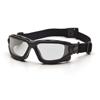 Pyramex Safety Products I-Force™ Eyewear Clear Anti-Fog Lens with Black Temples/Strap PYR SB7010SDT
