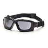 Pyramex Safety Products I-Force™ Eyewear Gray Anti-Fog Lens with Black Temples/Strap PYR SB7020SDT