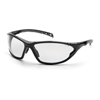 Pyramex Safety Products PMXCITE™ Eyewear Clear Lens with Black Frame PYR SB7710D