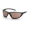 Pyramex Safety Products PMXCITE™ Eyewear Bronze Lens with Black Frame PYRSB7718D