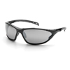Pyramex Safety Products PMXCITE™ Eyewear Silver Mirror Lens with Black Frame PYRSB7770D