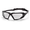 Pyramex Safety Products Highlander™ Eyewear Clear Anti-Fog Lens with Black Frame PYR SBB5010DT