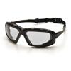 Pyramex Safety Products Highlander XP™ Eyewear Clear Anti-Fog Lens with Black/Gray Frame PYR SBG5010DT