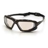 Pyramex Safety Products Highlander XP™ Eyewear IO Mirror Anti-Fog Lens with Black/Gray Frame PYR SBG5080DT