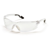 Pyramex Safety Products Achieva® Eyewear Clear Anti-Fog Lens with Gray Temples PYR SG6510ST