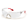 Pyramex Safety Products Achieva® Eyewear Clear Lens with Pink Temples PYR SP6510S