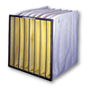 Air and HVAC Filters: Flanders - Precision Pak XDH - 24x24x19, MERV Rating : 11