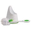 cleaning chemicals, brushes, hand wipers, sponges, squeegees: LYSOL® Toilet Brush and Caddy