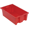 Quantum Storage Systems Stack and Nest Series Bins QNT SNT180 RED-CS