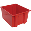 Quantum Storage Systems Stack and Nest Series Bins QNT SNT230 RED-CS