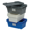 Shelving and Storage: Quantum Storage Systems - Cross Stack Tub Lids