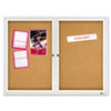 Quartet Quartet® Enclosed Indoor Cork Bulletin Board with Hinged Doors QRT 2364
