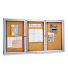 Quartet Quartet® Enclosed Indoor Cork Bulletin Board with Hinged Doors QRT 2366