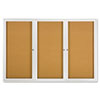 Quartet Quartet® Enclosed Indoor Cork Bulletin Board with Hinged Doors QRT 2367