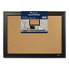 Quartet Quartet® Cork Bulletin Board with Black Frame QRT 814929