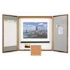 Quartet Quartet® Marker Board Cabinet with Projection Screen QRT 853